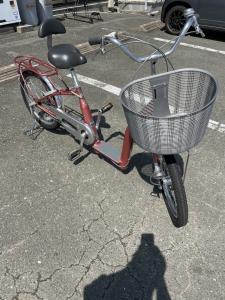 婦人用自転車を買取させていただきました