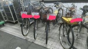 新品の自転車あります