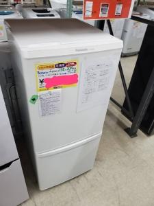 "Panasonicの冷蔵庫""NR-B14BW-W""買取ました!"