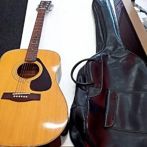 アコースティックギターを買取させていただきました