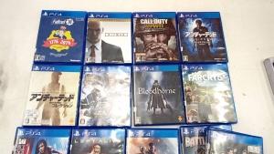 PS4のゲームソフトを多数買取させていただきました