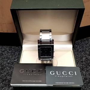GUCCIの腕時計を買取させていただきました