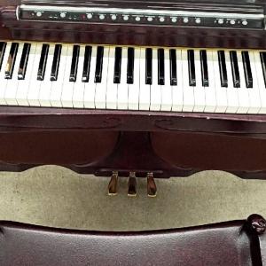 31年前の電子ピアノを買取させていただきました