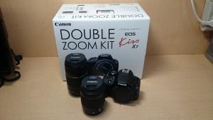 Canon EOS Kiss X7 ダブルズームキットを買取させて頂きました。・