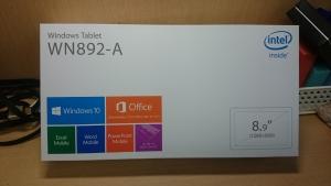 タブレットノートパソコンを買取させて頂きました。
