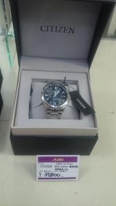 CITIZEN エコドライブ ソーラー電波時計を買取させて頂きました。