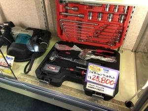 TONE K700 コンビネーションツールセットを買取させて頂きました。