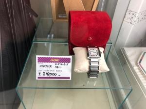 CARTIER レディース腕時計が入荷しました。