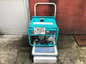 デンヨーエンジン駆動発電機GA-2600Uを買取りさせていただきました。