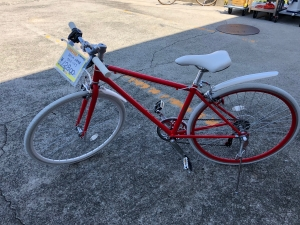 21technology クロスバイクを買取りさせていただきました。