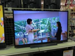 4K液晶49インチテレビを買取りさせていただきました。