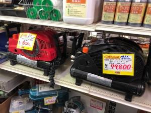 MAX高圧エアコンプレッサーを買取りさせていただきました。