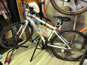 LOUIS GARNEAU クロスバイクを買取りさせていただきました。