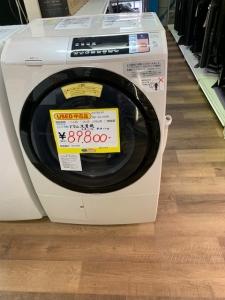 日立 ドラム洗濯機 BD-SV110A シャープ 冷蔵庫 SJ-GX50E