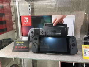 NINTENDO SWITCH を買取りさせて頂きました。