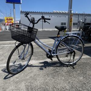 自転車を買取させていただきました
